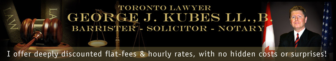 George Kubes Law Firm Toronto | Immigration - Divorce & Family Law - Notary Services